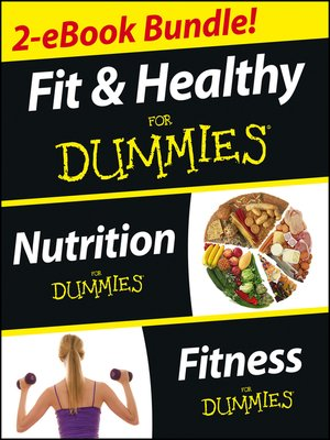 cover image of Fit and Healthy For Dummies, Two eBook Bundle with Bonus Mini eBook