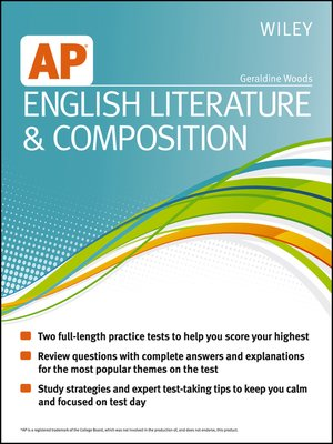 cover image of Wiley AP English Literature and Composition