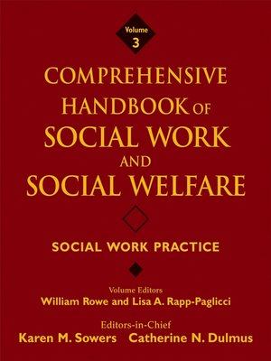 cover image of Comprehensive Handbook of Social Work and Social Welfare, Social Work Practice