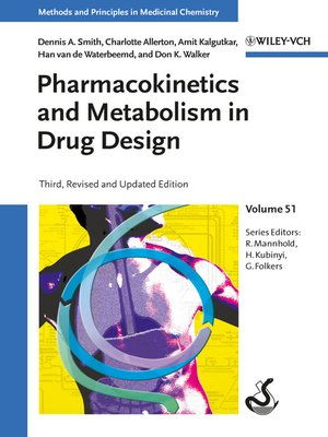 cover image of Pharmacokinetics and Metabolism in Drug Design
