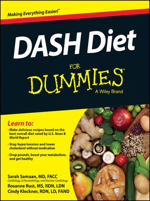 cover image of DASH Diet For Dummies
