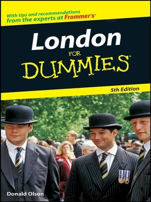 cover image of London For Dummies