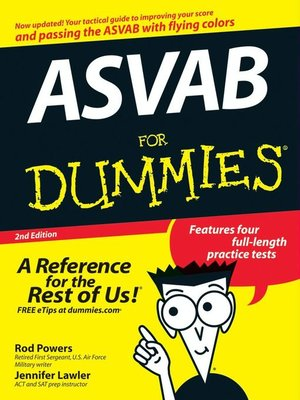 cover image of ASVAB For Dummies