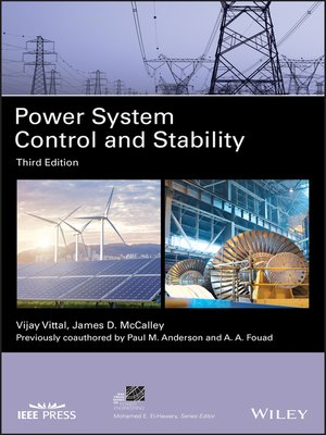 cover image of Power System Control and Stability