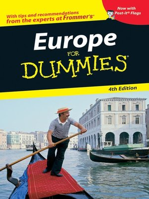 cover image of Europe For Dummies