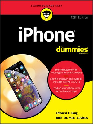 cover image of iPhone For Dummies