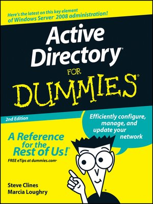 cover image of Active Directory® For Dummies®