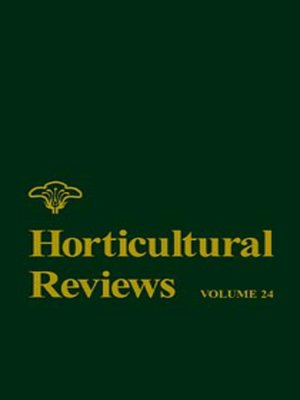 cover image of Horticultural Reviews