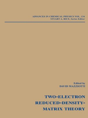 cover image of Advances in Chemical Physics, Reduced-Density-Matrix Mechanics