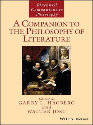 cover image of A Companion to the Philosophy of Literature