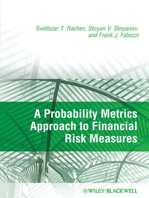 cover image of A Probability Metrics Approach to Financial Risk Measures