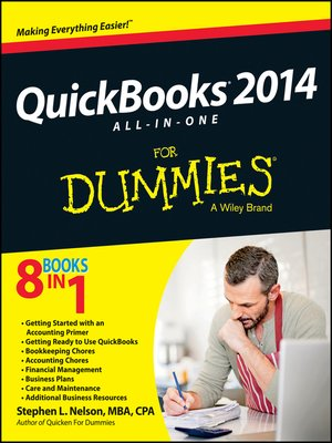 cover image of QuickBooks 2014 All-in-One For Dummies