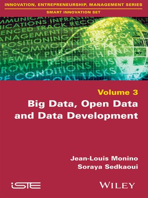cover image of Big Data, Open Data and Data Development