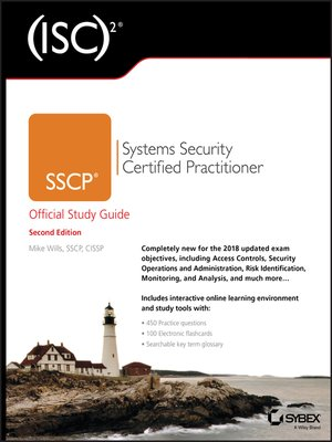 cover image of (ISC)2 SSCP Systems Security Certified Practitioner Official Study Guide