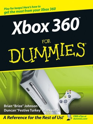 cover image of Xbox 360For Dummies