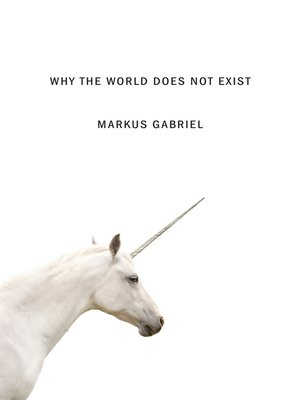 cover image of Why the World Does Not Exist