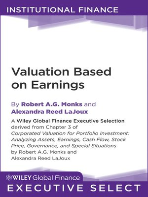 cover image of Corporate Valuation for Portfolio Investment