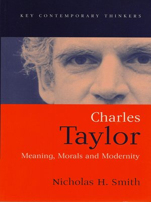 cover image of Charles Taylor