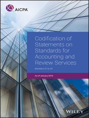 cover image of Codification of Statements on Standards for Accounting and Review Services