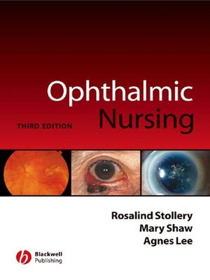 cover image of Ophthalmic Nursing