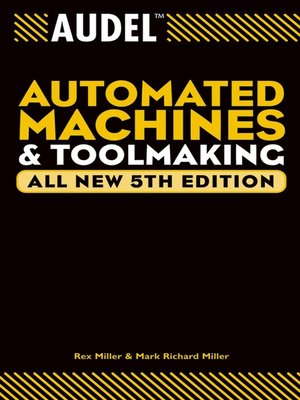 cover image of Audel Automated Machines and Toolmaking