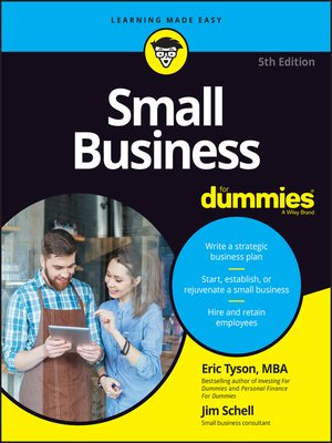 cover image of Small Business For Dummies