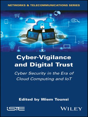 cover image of Cyber-Vigilance and Digital Trust