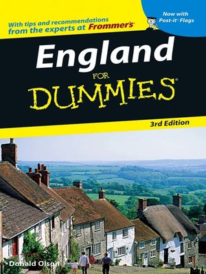 cover image of England For Dummies