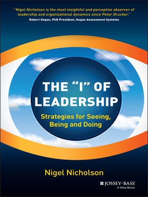 cover image of The I of Leadership