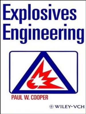 cover image of Explosives Engineering
