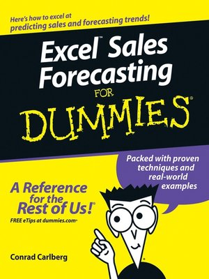 cover image of Excel Sales Forecasting For Dummies