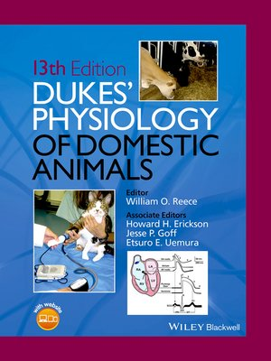 cover image of Dukes' Physiology of Domestic Animals
