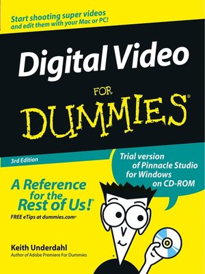 cover image of Digital Video for Dummies