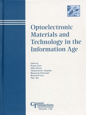 cover image of Optoelectronic Materials and Technology in the Information Age