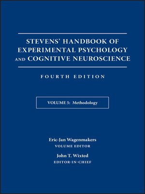 cover image of Stevens' Handbook of Experimental Psychology and Cognitive Neuroscience, Methodology