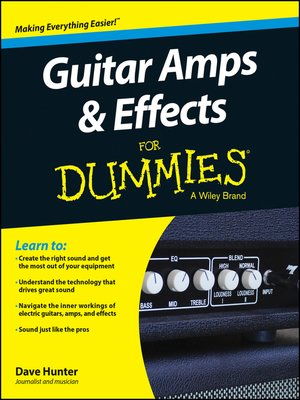 cover image of Guitar Amps and Effects For Dummies