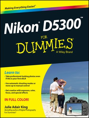 cover image of Nikon D5300 For Dummies