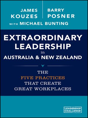 cover image of Extraordinary Leadership in Australia and New Zealand