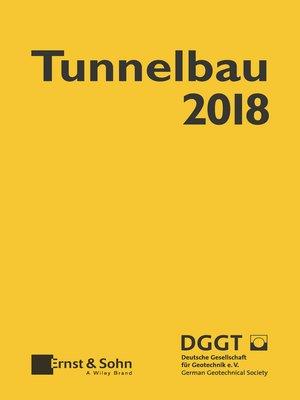 cover image of Taschenbuch für den Tunnelbau 2018