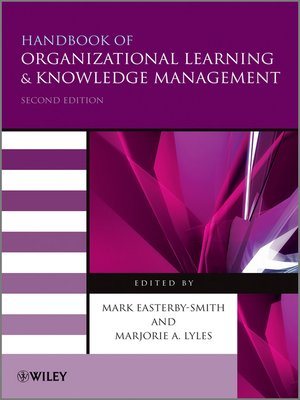 cover image of Handbook of Organizational Learning and Knowledge Management