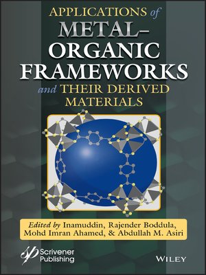 cover image of Applications of Metal-Organic Frameworks and Their Derived Materials