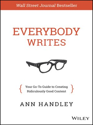 cover image of Everybody Writes