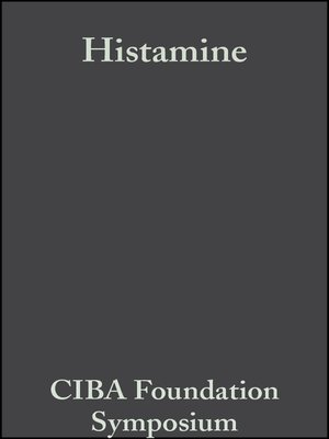 cover image of Histamine