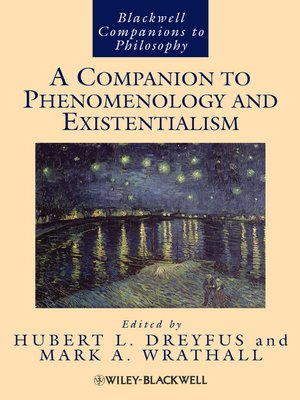 cover image of A Companion to Phenomenology and Existentialism