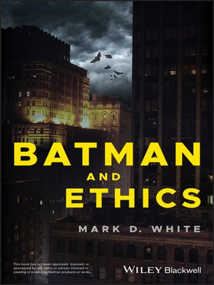 cover image of Batman and Ethics