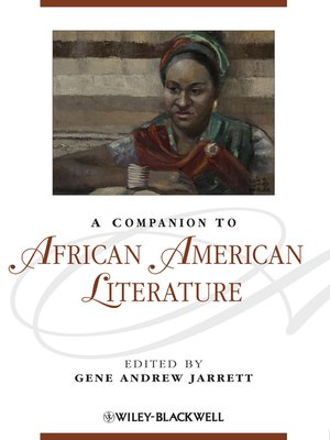 cover image of A Companion to African American Literature