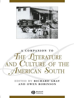cover image of A Companion to the Literature and Culture of the American South