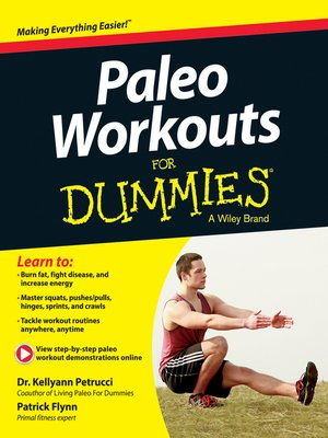 cover image of Paleo Workouts For Dummies
