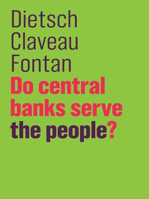 cover image of Do Central Banks Serve the People?