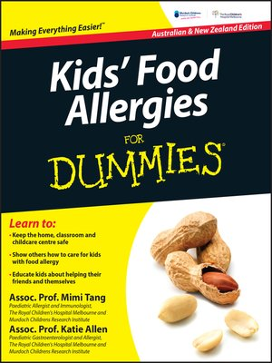 cover image of Kids' Food Allergies for Dummies